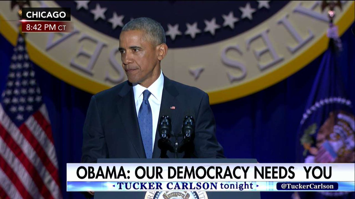 .@POTUS: If you're disappointed by your elected officials, grab a clipboard, get some signatures, and run for office yourself.