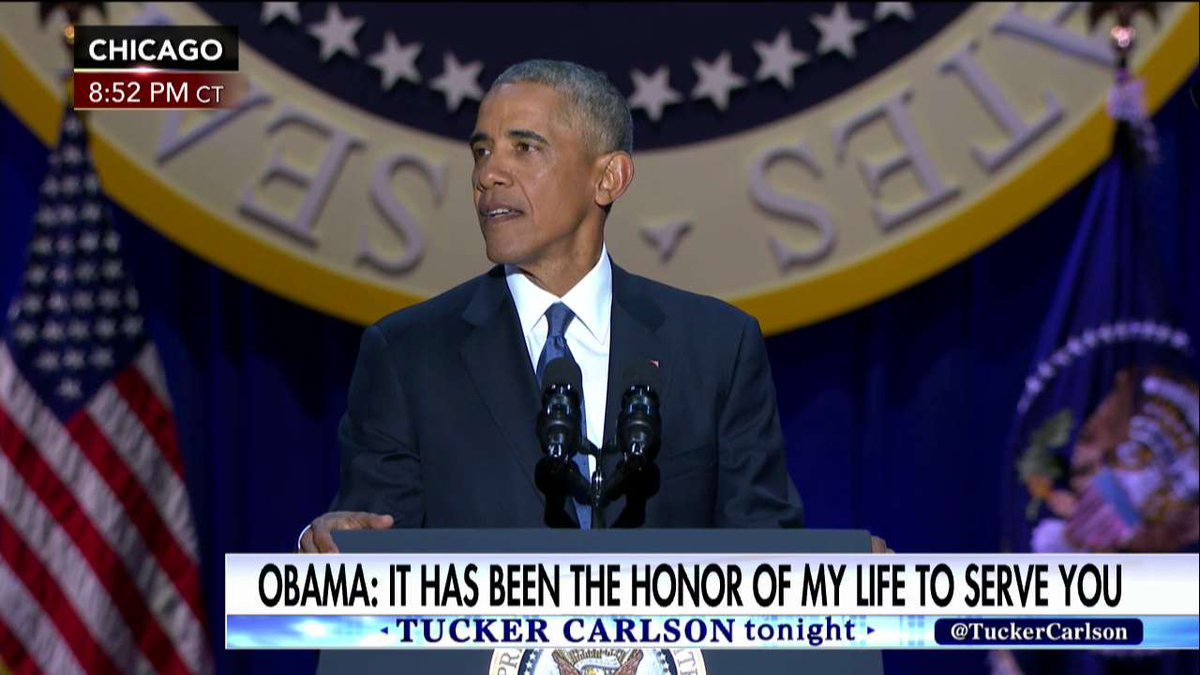 .@POTUS: My fellow Americans, it has been the honor of my life to serve you.