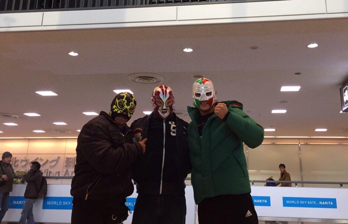 """CMLL: Arribaron a Japón los luchadores mexicanos que participarán en """"Fantasticamanía 2017"""" 4"""