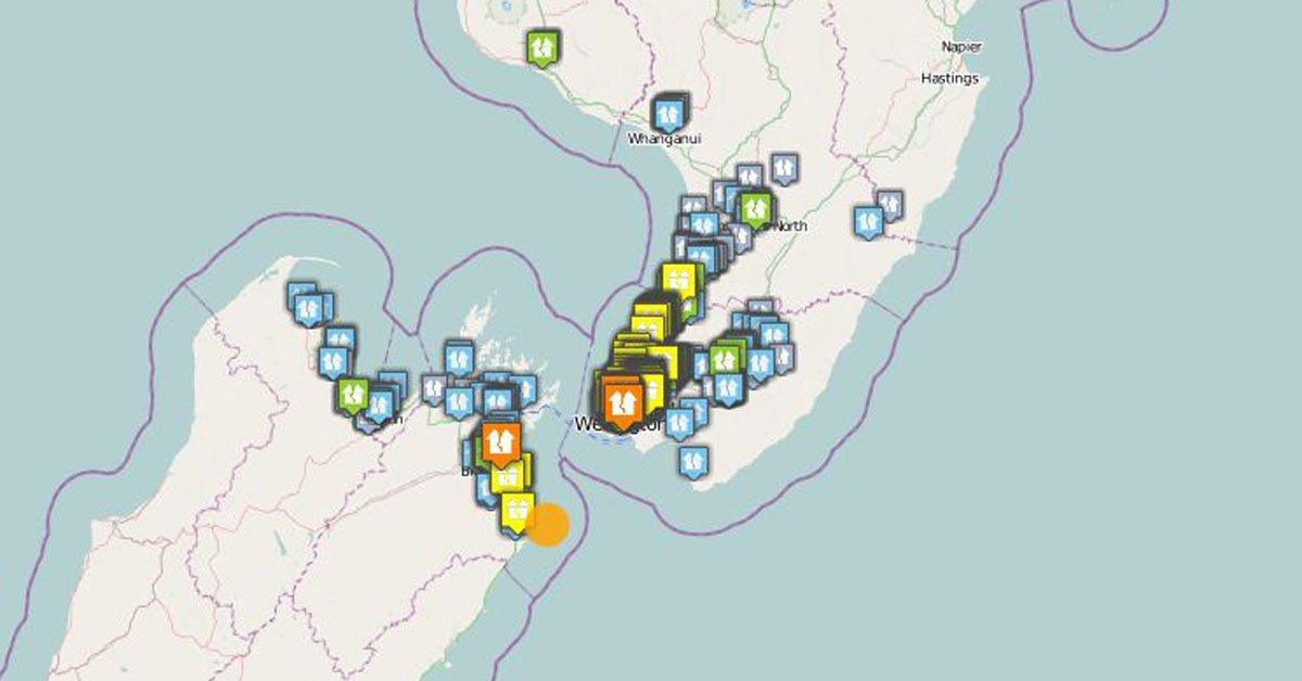 #Breaking: A magnitude 5 earthquake has shaken Wellington and the upper South Island https://t.co/Kx50ktzBha #eqnz https://t.co/DXspIPpZuj