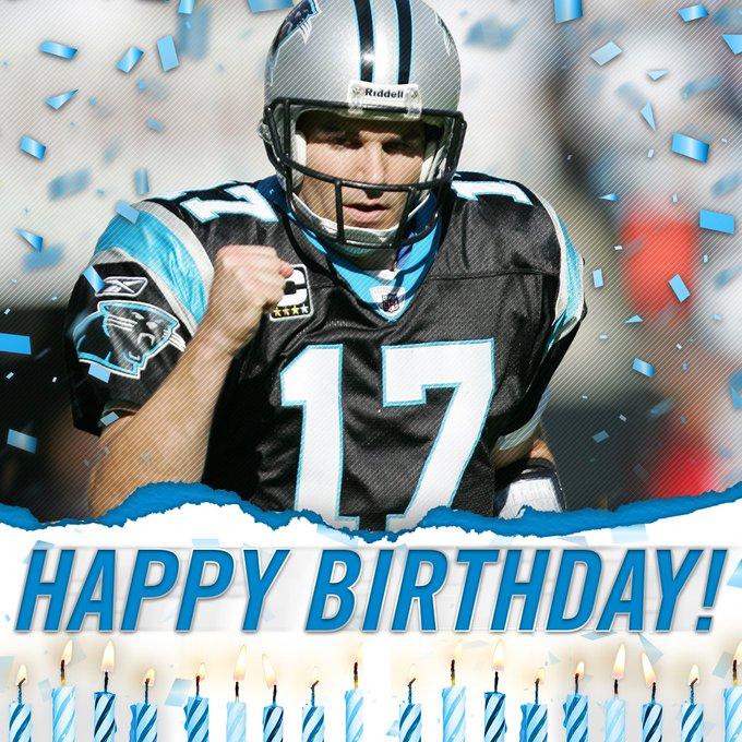 Happy Birthday to former QB Jake Delhomme!
