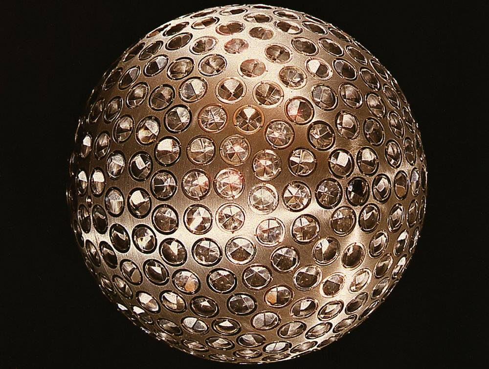 ScienceChannel: The LAGEOS I, Laser Geodynamics Satellite, looks like a disco ball! #WhatOnEarth