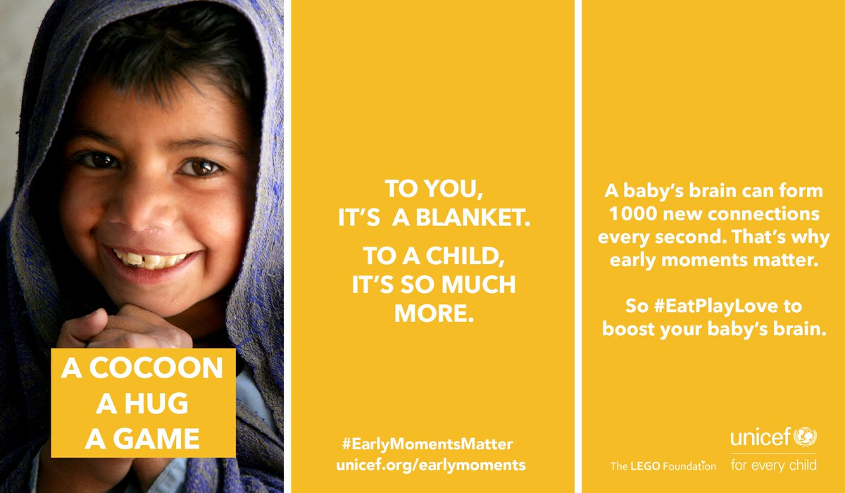#EatPlayLove to boost your young child's brain and help make to  #Earl...