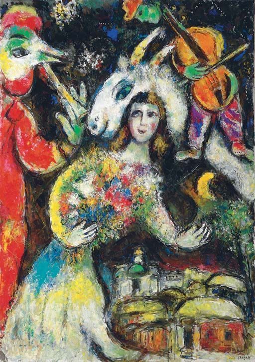 #DonneInArte per  #LeLuciDInverno  L'hiver, Marc Chagall. (1887 - 1985) #art #artist #painting  @AlessandroForn6 @ceconomou56 @mmayr5 https://t.co/i4Pyg0PpJc