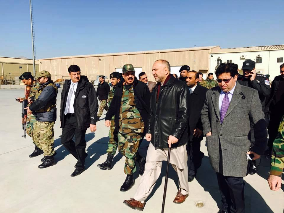 Haneef Atmar, national security council chief, appointed head of team to probe Tuesday's attack. He has arrived in Kandahar