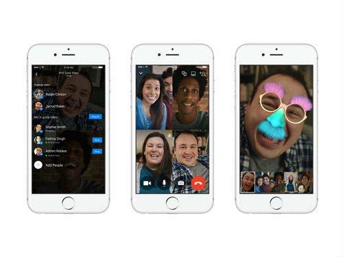 Thumbnail for Facebook Messenger agora permite que você converse por vídeo com até 50 pessoas