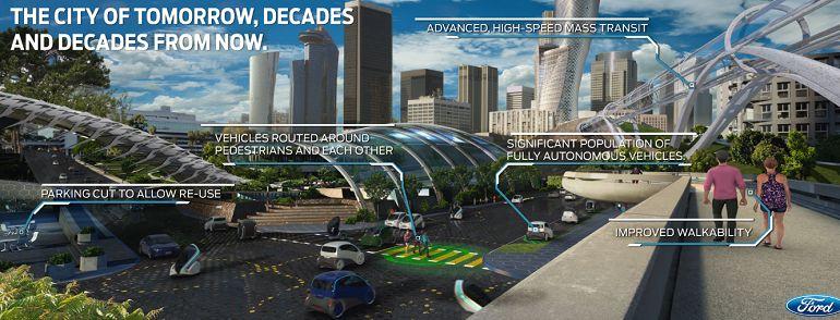 Ford sees autonomous vehicles as key cog of smart city