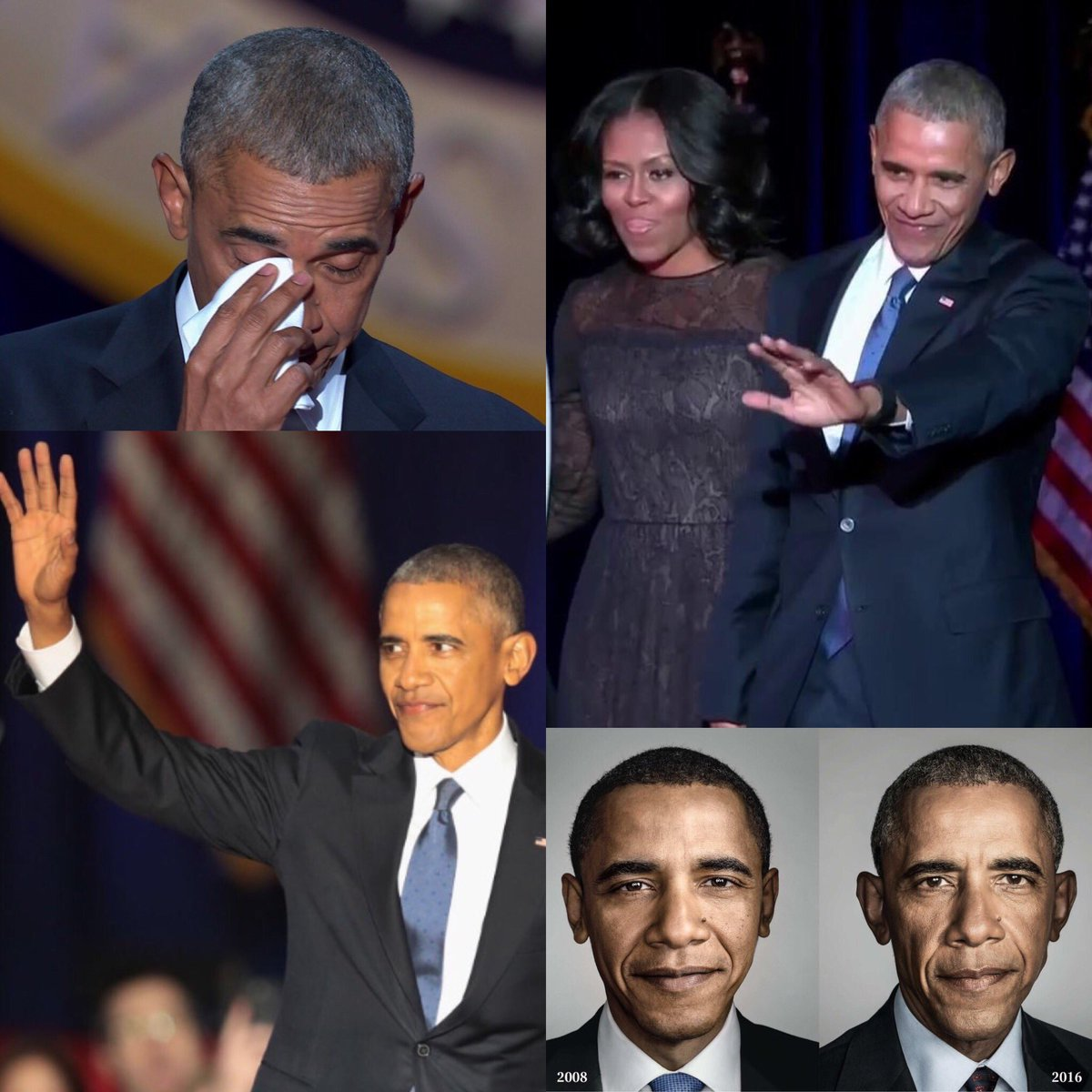 Discours d&#39;adieu de Barack Obama @BarackObama #BarackObama #Farewell #ObamaFarewell #FarewellObama 2008/16 Jan 2017:&quot;Yes we can, Yes We Did&quot;<br>http://pic.twitter.com/z2f2ZFATMX