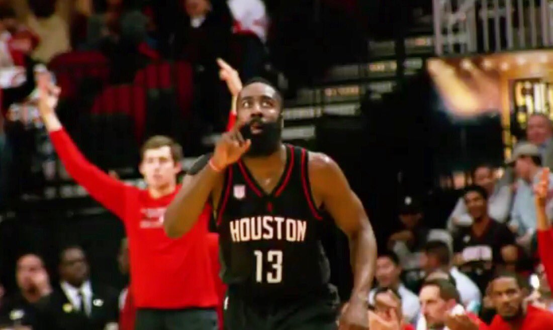 9 wins in a row. Back to back 40 point triple doubles. Mama there goes that man. James Harden #NBAVOTE https://t.co/bcPl9MQezM