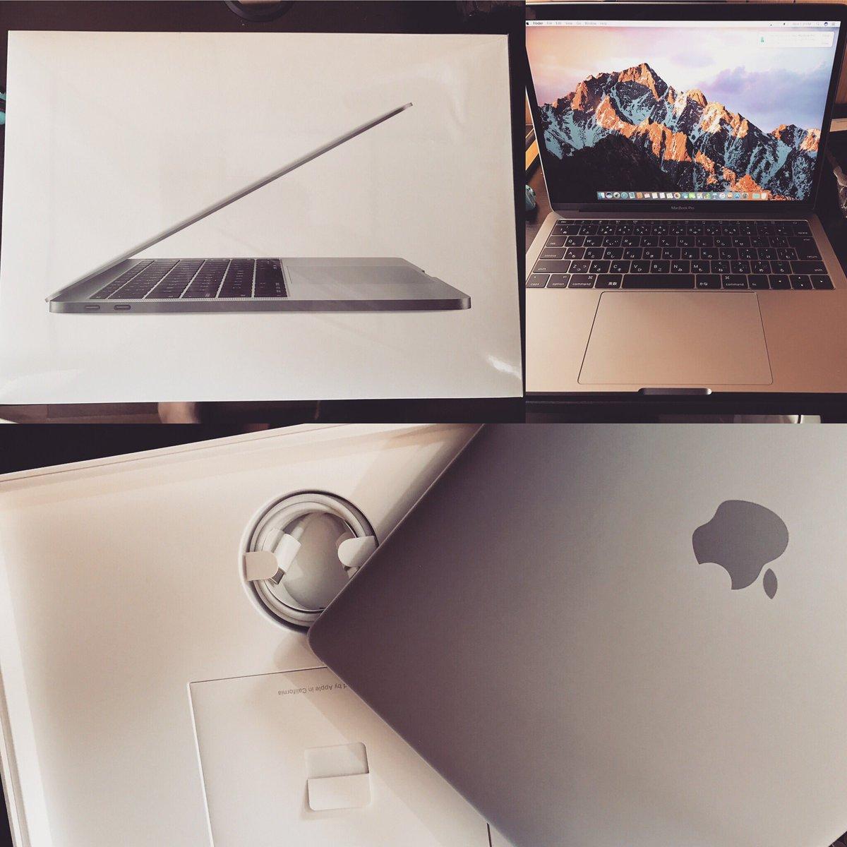 #MacBookPro #2k16 #256gb #grey  New babe<br>http://pic.twitter.com/lCvdcLa69s