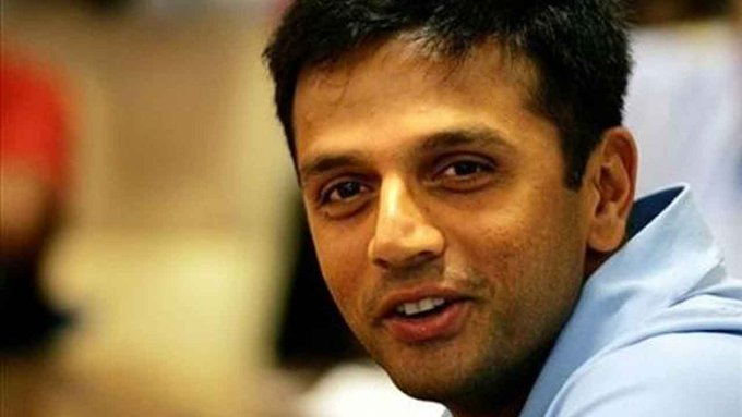 "Wishing a Very Happy Birthday to Rahul Dravid ""The Wall\"" Have a great Future!"