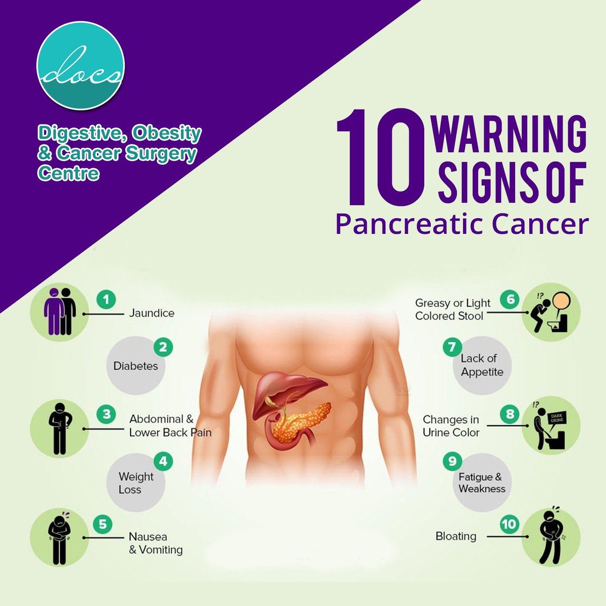 pancreatic cancer back pain