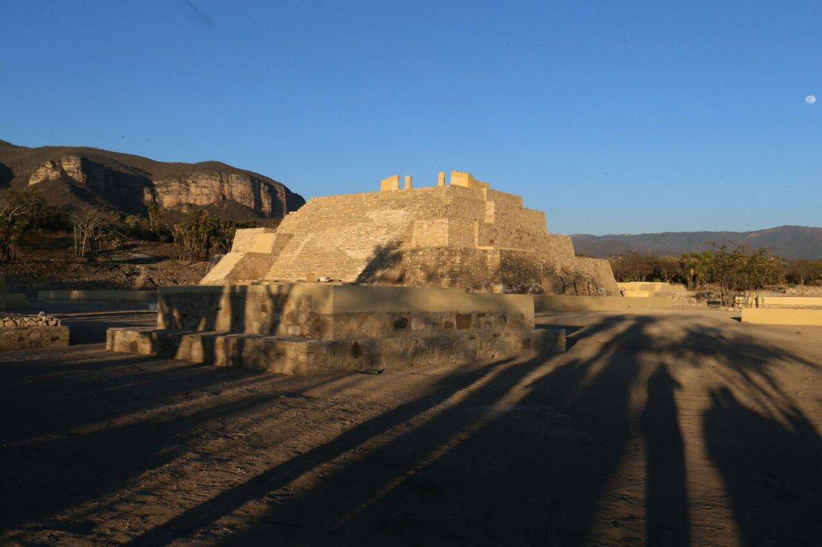 vista de la zona de Tehuacán Viejo