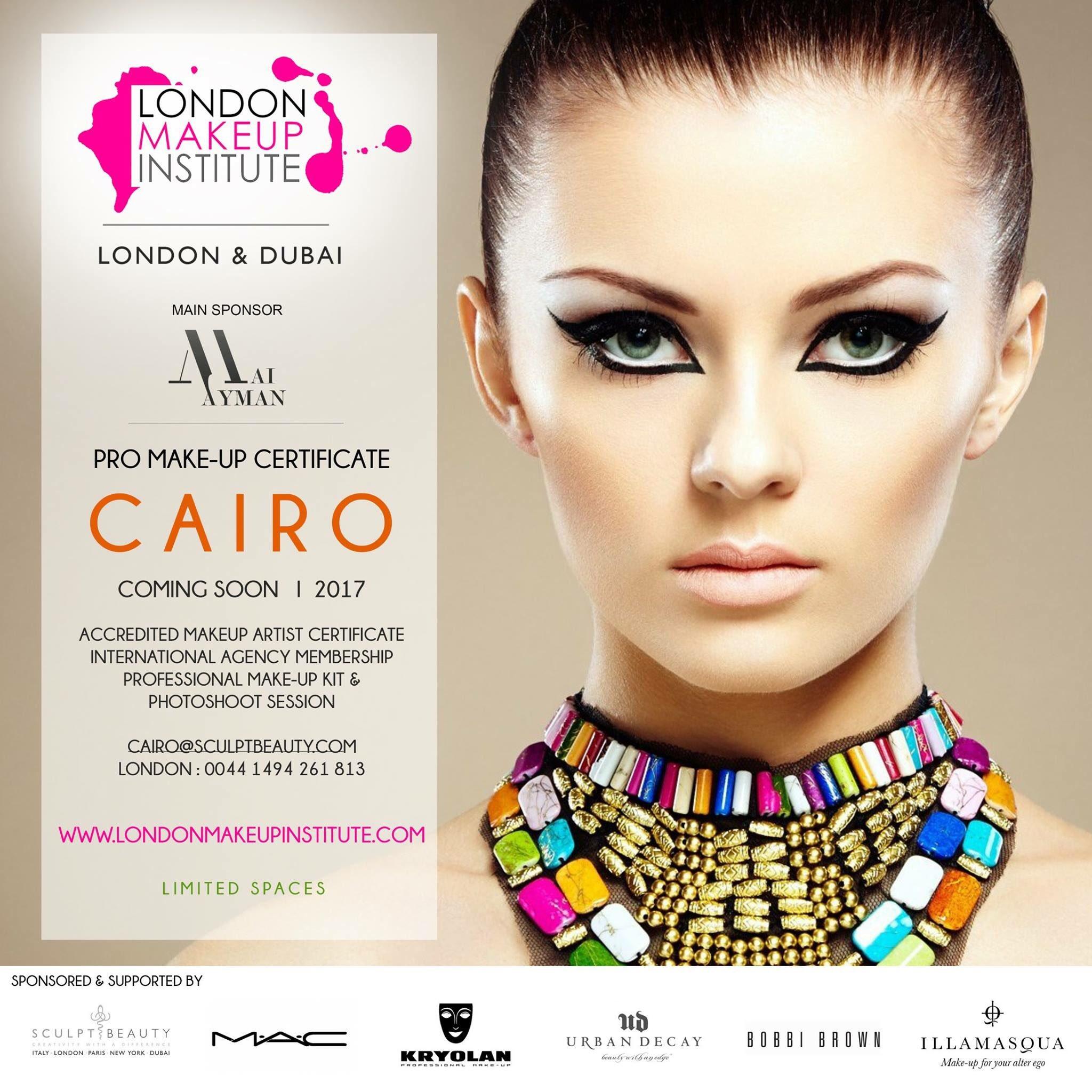 Cairo Pro Makeup Artist Certificate