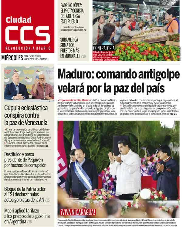 PRENSA 🗞 | Así amanecen las primeras planas de los diarios regionales...