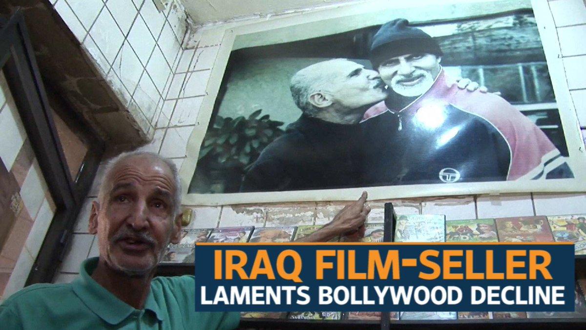 Watch   Iraq film-seller laments Bollywood decline https://t.co/vjV5MvaSeM