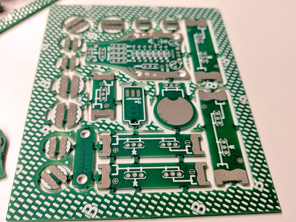 Building up the #BoldportClub Juice project prototype.