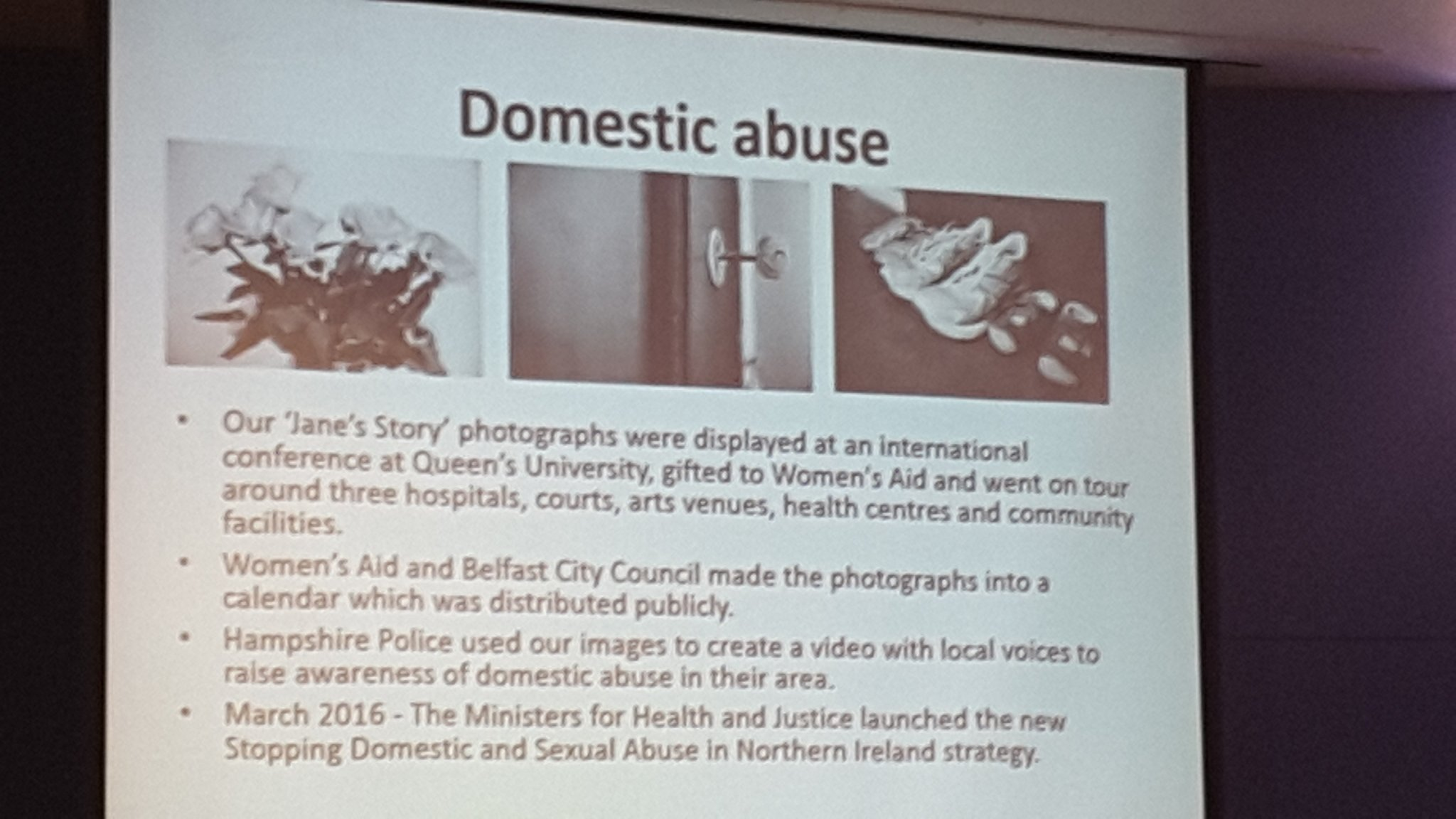 More data on #domesticabuse and how data is being used from @Kath_TheDetail #DetailData conf today in #Belfast Cc @Amirah_UK @womensaid https://t.co/VsQbeqTwnO