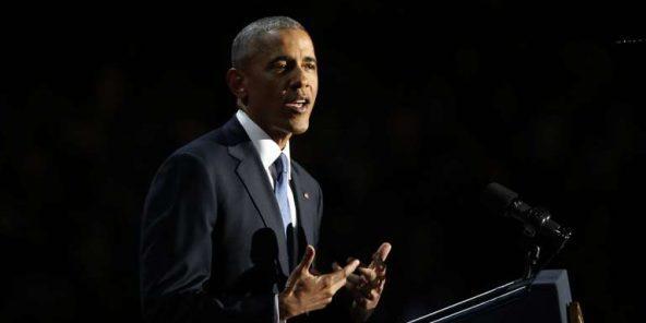 #États-Unis : les adieux poignants de #Barack Obama « Yes we did » (Oui, nous l'avons…  http://www. newsdeguinee.com/2017/01/11/eta ts-unis-les-adieux-poignants-de-barack-obama-yes-we-did-oui-nous-lavons-fait/ &nbsp; … <br>http://pic.twitter.com/Egx7V0itrL
