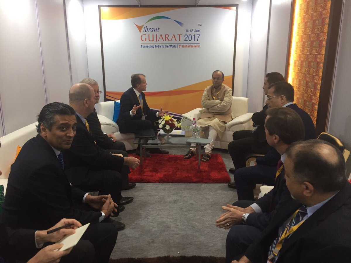 Meeting with USIBC delegation led by Mr John Chambers, Chairman USIBC,...
