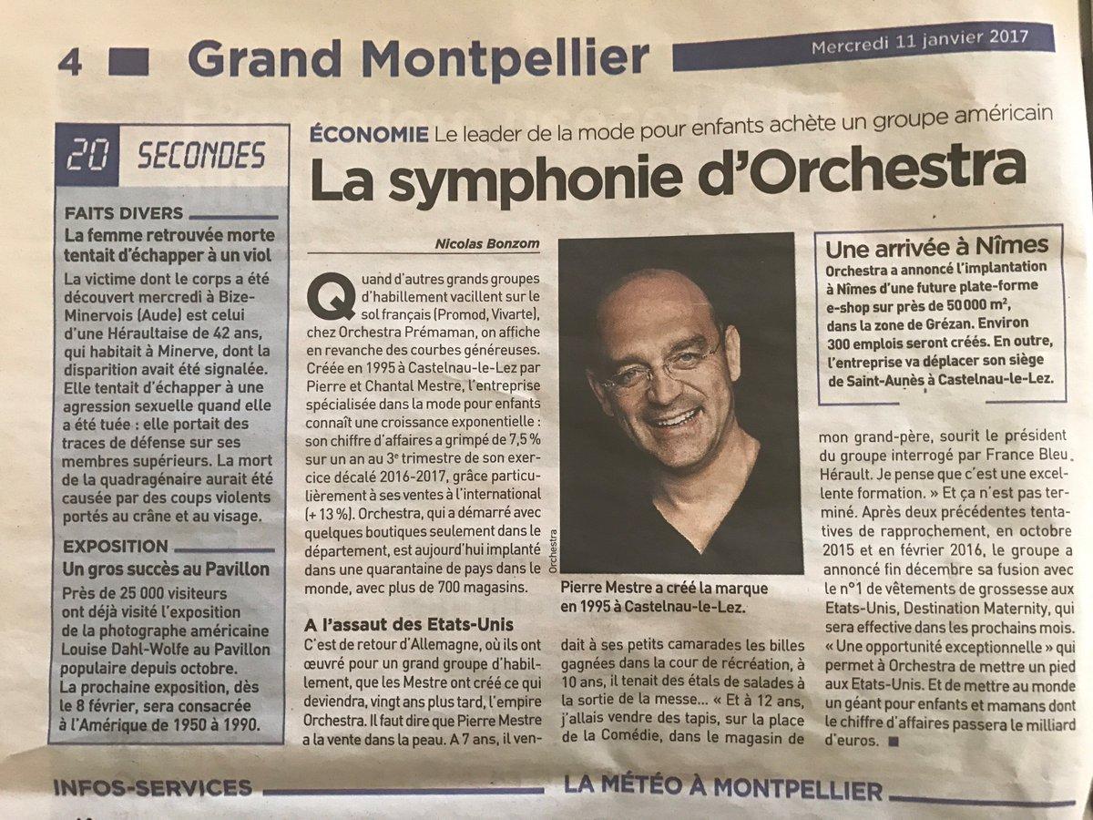 Focus sur notre Grand Partenaire #Orchestra dans le @20minutesmont d&#39;aujourd&#39;hui ! @Orchestra_eshop<br>http://pic.twitter.com/N9k75bZoRq