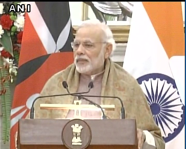 We have a shared legacy. India and Kenya fought together against colonialism: PM Narendra Modi