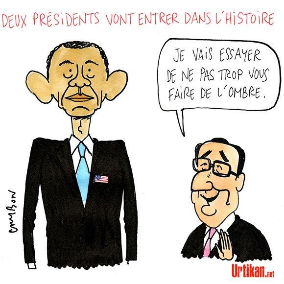 Obama - Hollande : Au revoir Présidents ! #DessinDuJour de @m_cambon #obama #hollande #BarackObama #BourdinDirect  http://www. urtikan.net/dessin-du-jour /barack-obama-francois-hollande-au-revoir-presidents/ &nbsp; … <br>http://pic.twitter.com/LxOticn1HO