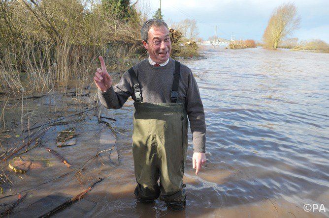 Latest from #nigelfarage on #watersportsgate \