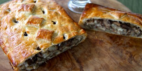Mushroom & Brie Wellington Recipes