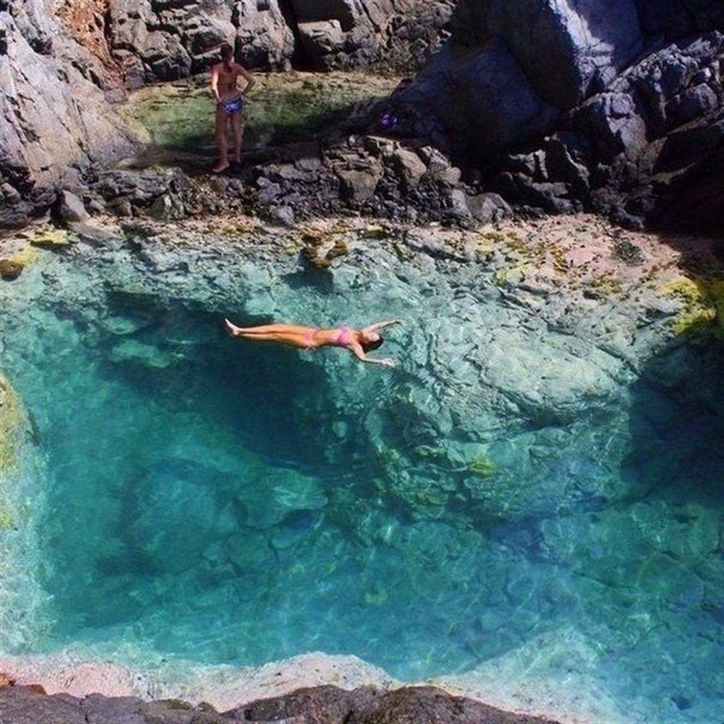 один естественные бассейны карибского моря фото сочная красавица