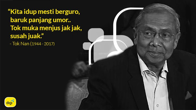 Our deepest condolences to Tok Nan\'s family and his beloved Sarawakians. #AdenanSatem