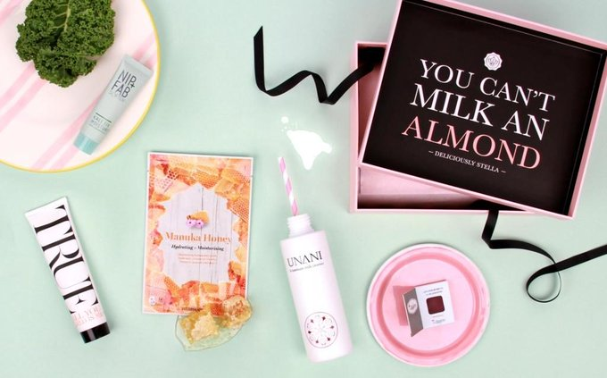 GLOSSYBOX collaborates with Deliciously Stella