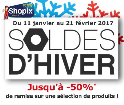 https:// goo.gl/wuJTU5  &nbsp;   ➠ [ #SOLDES ]  C&#39;est parti pour les #SOLDES2017 ➠#Shopix !  Jusqu&#39;à -50% d&#39;économie !!! #SoldesHiver #ProduitMalin<br>http://pic.twitter.com/FOVY6I3i74