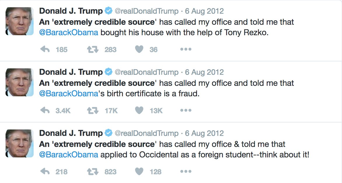 Who takes seriously unsubstantiated anonymous claims, anyways? #GoldenShowerGate