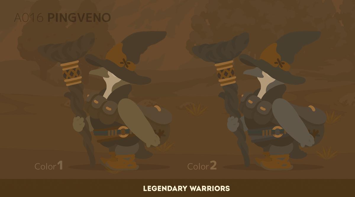#伝説の旅団 #Legendary_Warriors