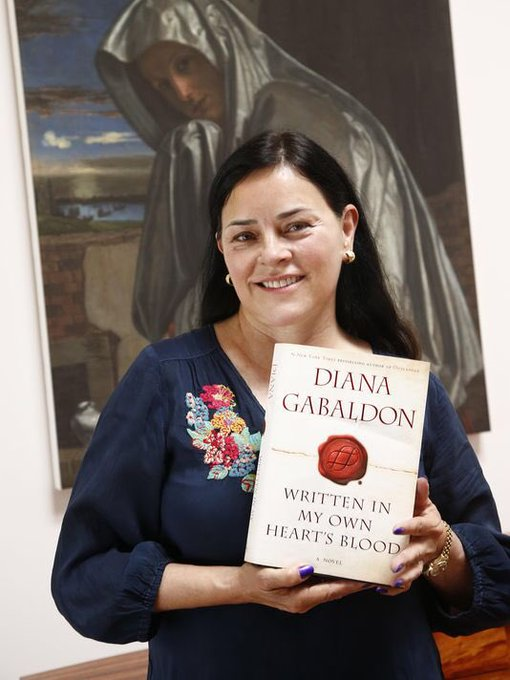 Happy birthday to my most favouritist author Diana Gabaldon!!