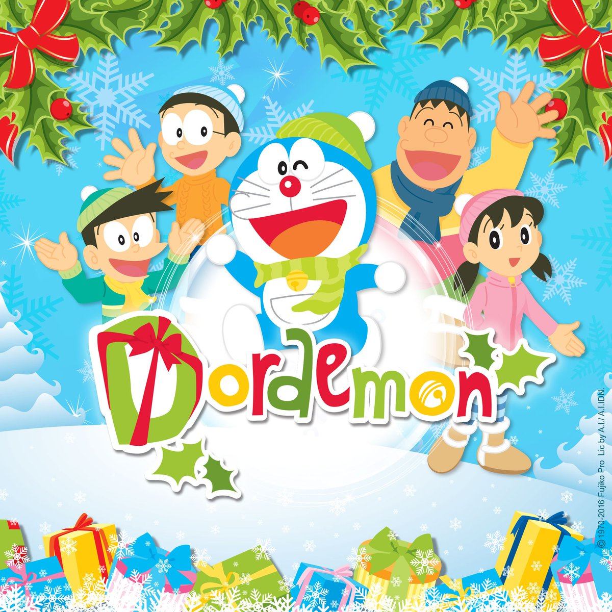 Terima kasih untuk kebersamaan kita selama liburan Natal dan Tahun Baru!  Sampai jumpa di acara berikutnya!  #DoraemonIndonesia https://t.co/GX64T7mXxg
