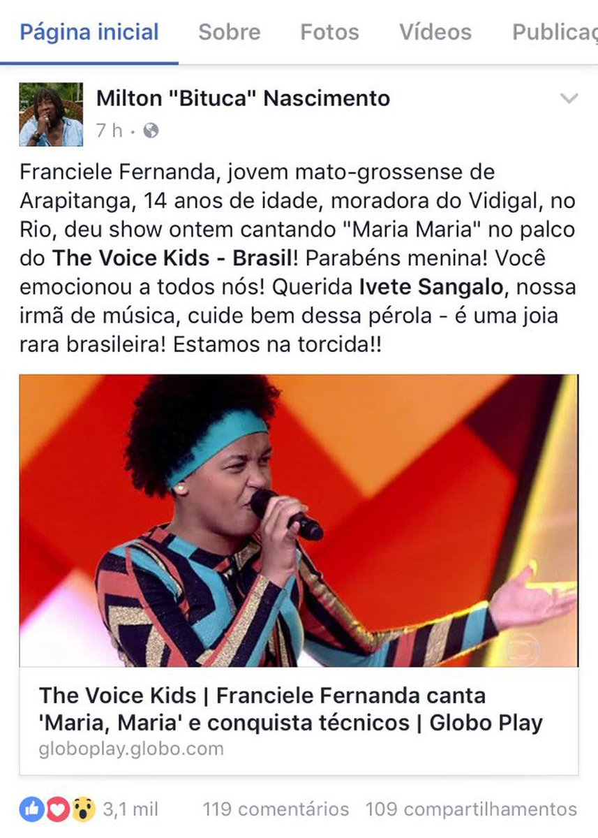 G1 On Twitter Participante Do The Voice Kids Presta