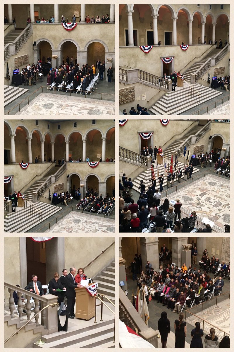 Scenes from the Naturalization Ceremony at the museum today. #citizenship #art #museum #worcesterma #massachusetts<br>http://pic.twitter.com/Cf04uSaOYf