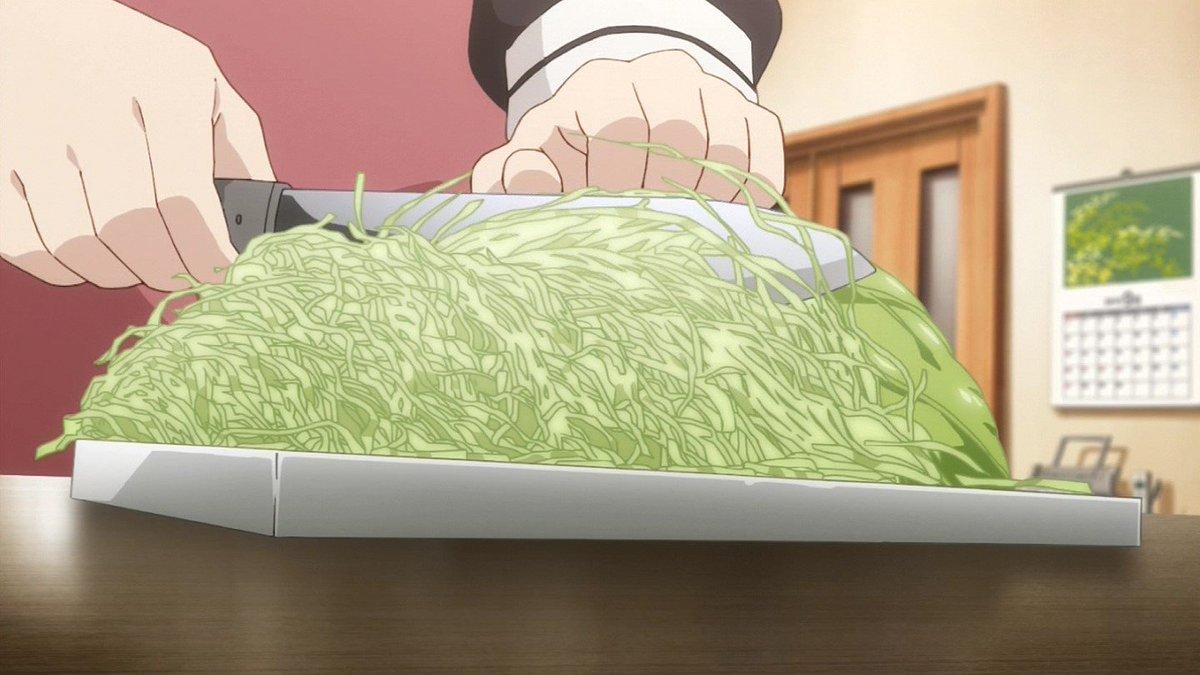 キャベツ作画検定合格 #chaoch_anime #tokyomx https://t.co/QcO6cAA0cG
