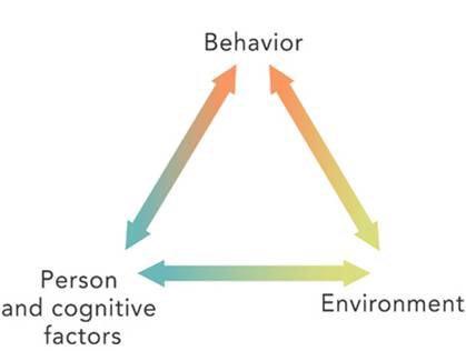 Reciprocal determinism model