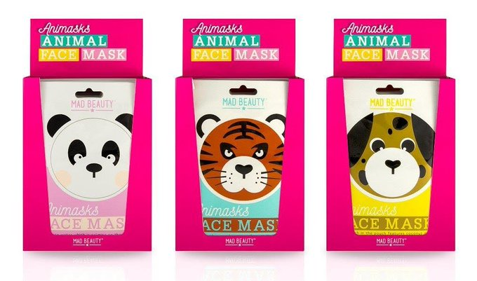 Mad Beauty launches Animasks