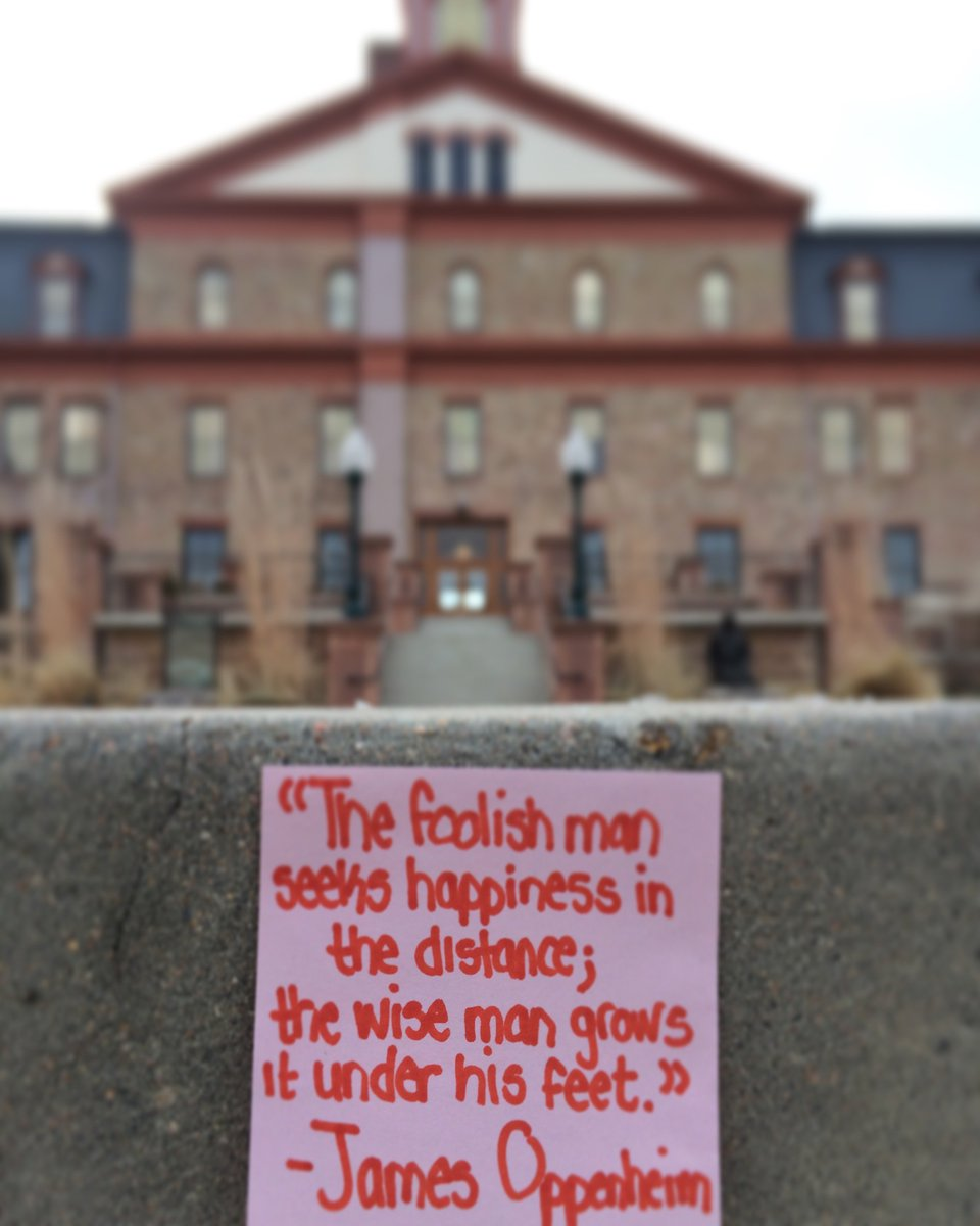 Happiness is not something you can find at the end of the road...it is here, now. #ThisIsRegis #WednesdayWisdom <br>http://pic.twitter.com/gdlnj2UfS0