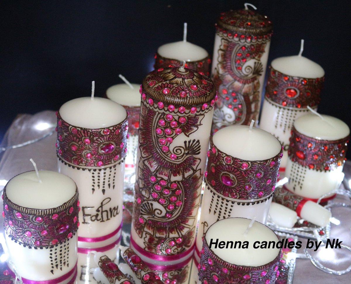 Mehndi Candles Facebook : Henna candles by nk hennank twitter