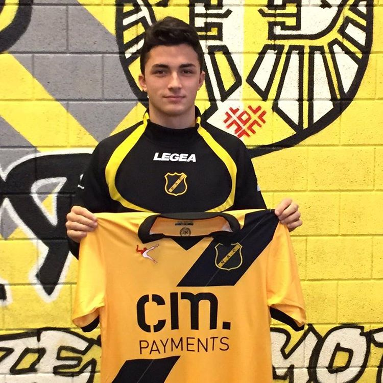 Manchester City midfielder Manu Garcia (19) has joined NAC Breda on lo...