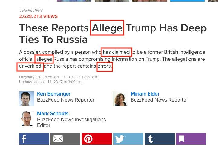 Une source inconnue donne des informations fausses ou invérifiables. Tout le monde les reprend. Bref l&#39;information en 2017. #TrumpGate <br>http://pic.twitter.com/AKCGJL5pu0