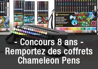 [Concours 8 ans #OlybopBD8] Gagnez des coffrets et accessoires Chameleon Pens https://t.co/nSwjmjYtUt https://t.co/wPwKxARiGH