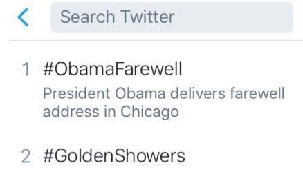 Chicago golden showers