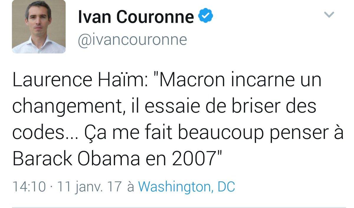 Quand je lis que @lauhaim se rappelle la Campagne #Obama 2007 en voyant #Macron2017 Je n ai qu une chose à lui dire All Togheter #YesWeWalk <br>http://pic.twitter.com/FuJUwCkb8O