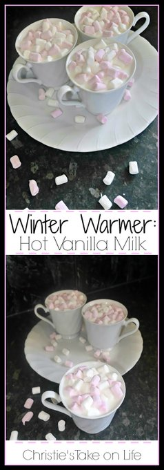 Winter Warmer: Hot Vanilla.